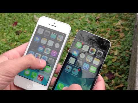 iPhone 5 vs iPhone 5S. Полное сравнение.
