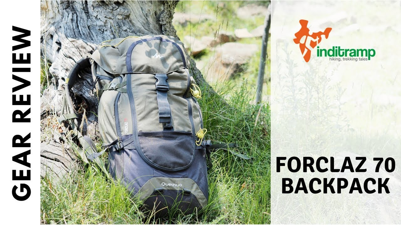 121af8ce0 Quechua Forclaz 70 Backpack Review - YouTube