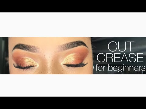 SIMPLE CUT CREASE FOR BEGINNERS   Destiny Renee thumbnail