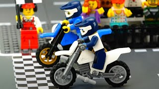 Motorbike Race Cartoon For Kids.