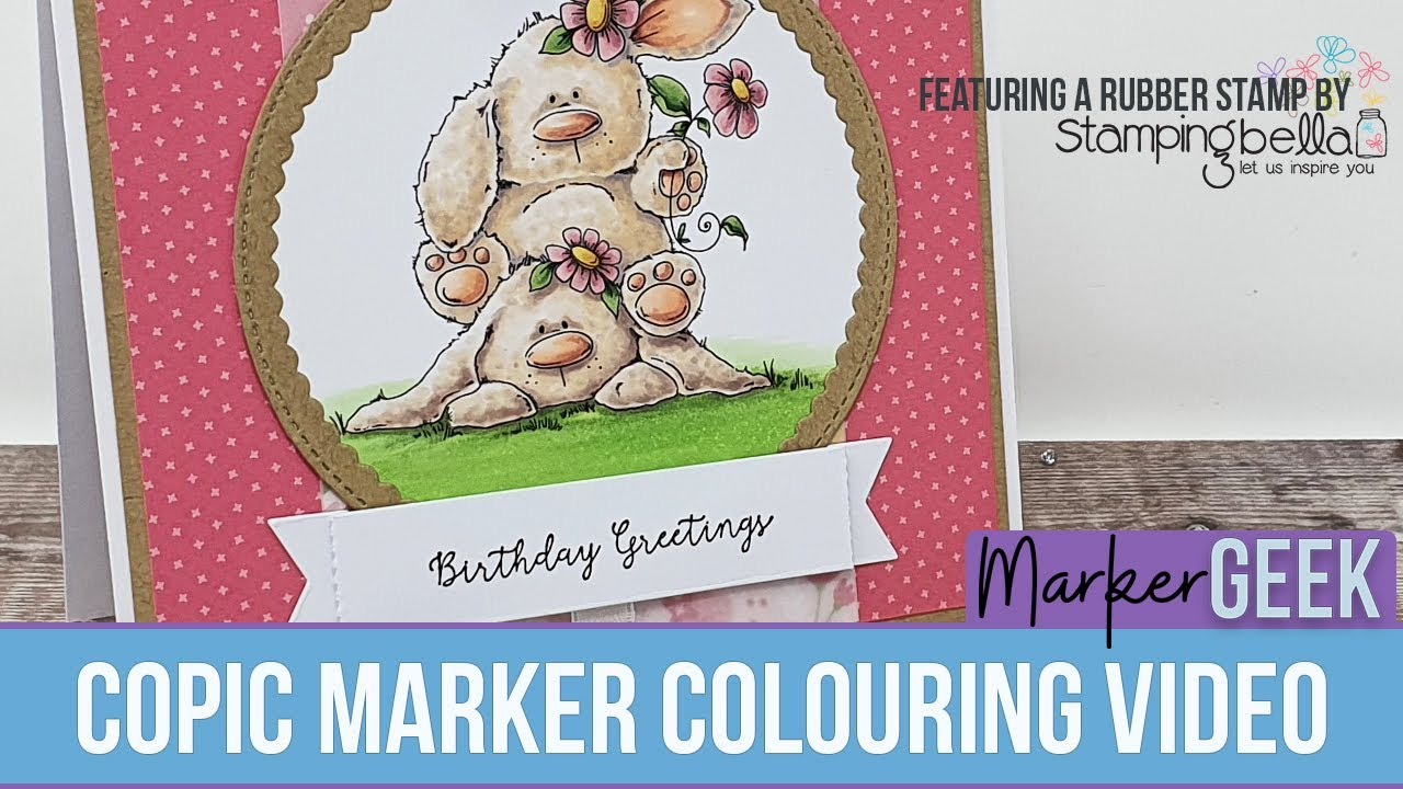 Stamping Bella Rubber Stamp Bunny