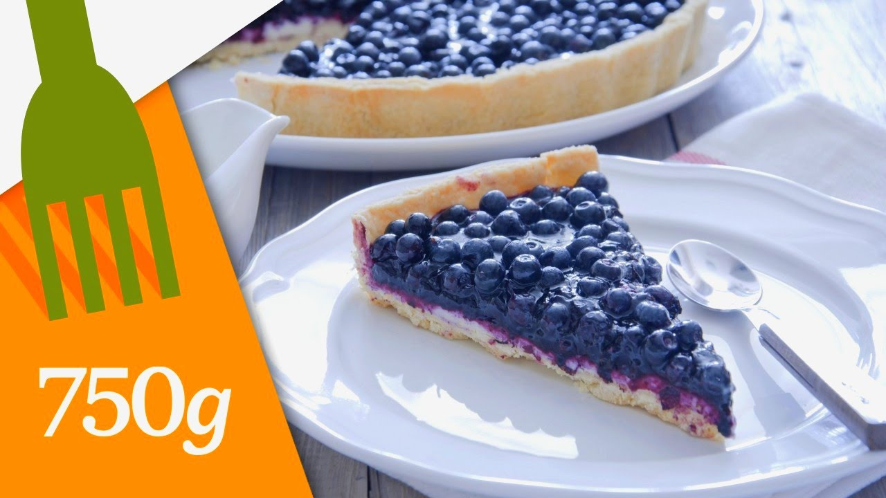 recette de tarte aux myrtilles ou blueberry pie 750 grammes youtube. Black Bedroom Furniture Sets. Home Design Ideas