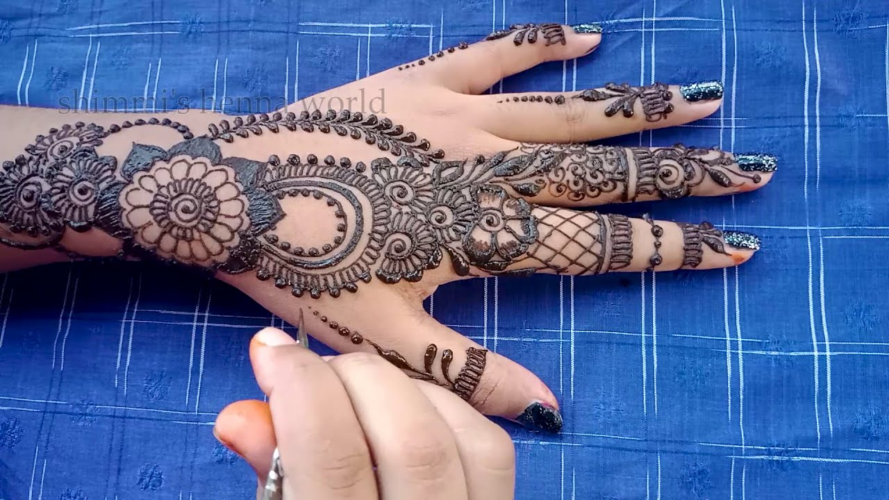 Image result for both hand simple mehendi designs