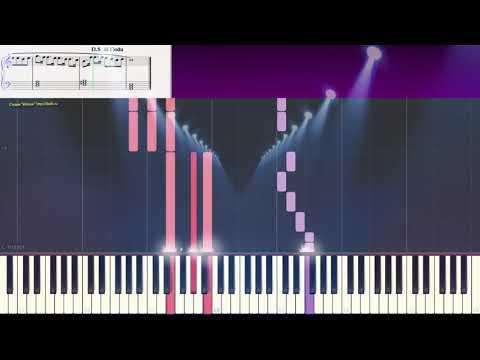 Сувенир - Д. Руссос (легкий фрагмент) (Ноты и Видеоурок для фортепиано) (piano Cover)