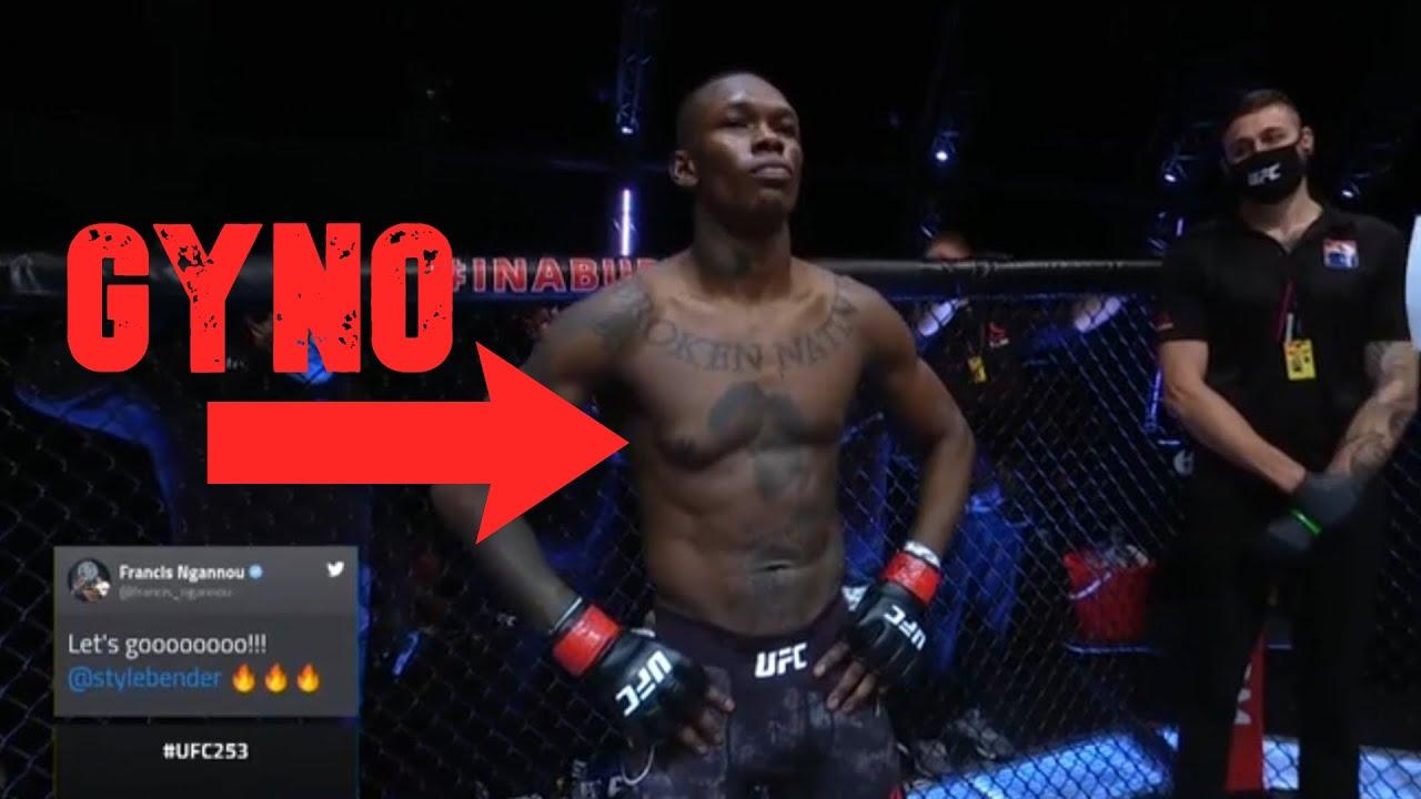 Israel Adesanya Suspect For Taking Gear? GYNO #UFC253