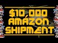 $10K Amazon FBA Shipment - Selling & Sourcing Books, CDs, & DVDs In 2019!