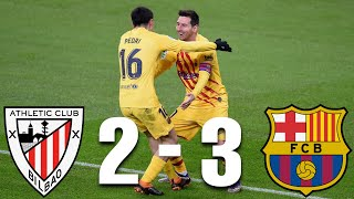 Download the onefootball app here - https://tinyurl.com/y3s3325clionel messi scored two great goals after combining with pedri once again, who also scored, t...