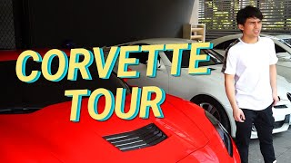 MY CORVETTE STINGRAY CAR TOUR (What's in my car?) | Jimuel Pacquiao