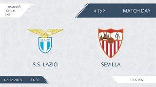 Lazio 15:2 Sevilla, 4 тур