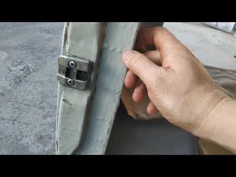Усиление кузова УАЗ Буханка боковая дверь. Часть 2
