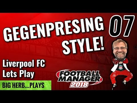 FM18 Liverpool Lets Play Gegenpressing Style! 07 - Man Utd and Newcastle Football Manager 2018