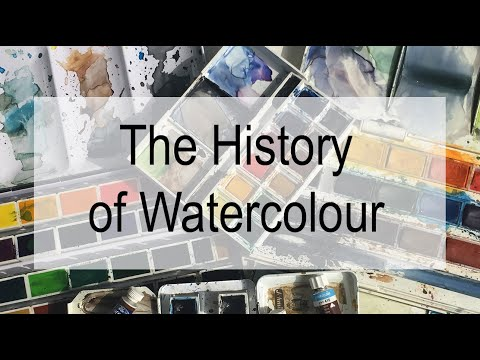 The History Of Watercolours.