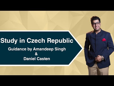 Study in Czech Republic Guidance by Amandeep Singh & Daniel Casten