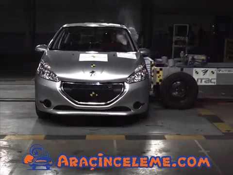 euro ncap | peugeot 208 | 2012 | crash test - youtube