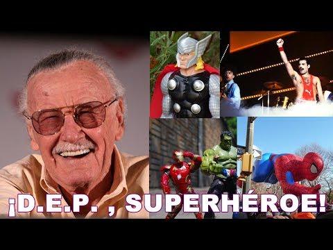 Stan Lee Queen y los Superhéroes