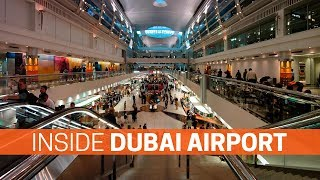 Inside The Dubai Airport | Detail Tour | Busiest Airport In The World