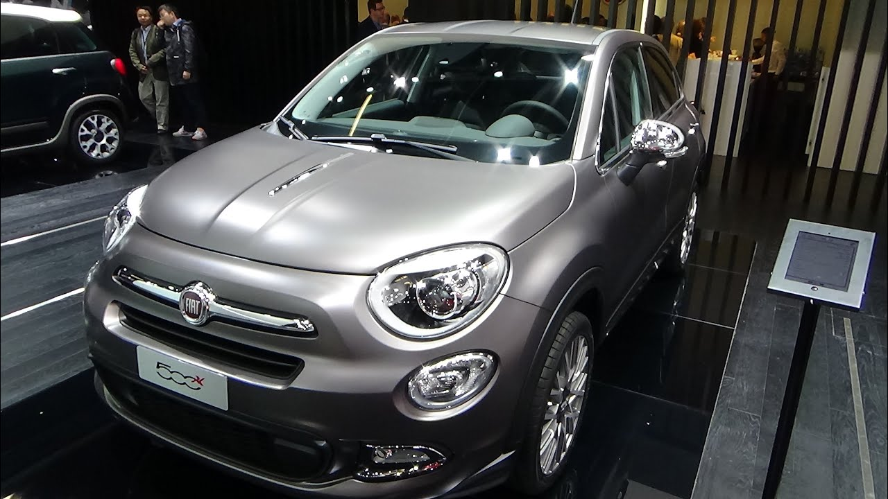 2016 fiat 500x lounge exterior and interior iaa frankfurt 2015 youtube. Black Bedroom Furniture Sets. Home Design Ideas