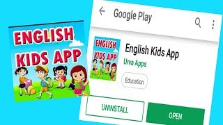 English Kids App - Best Education Apps Android For Kids