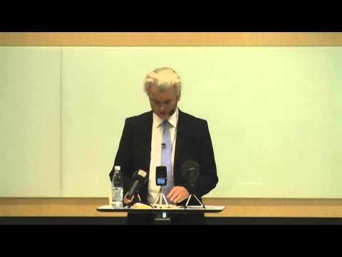 Geert Wilders speech in Malmo 2012-10-27