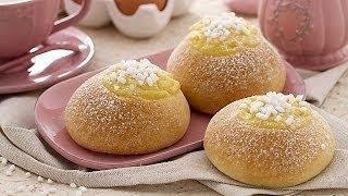Veneziane Alla Crema (sweet Brioche Buns) - Recipe