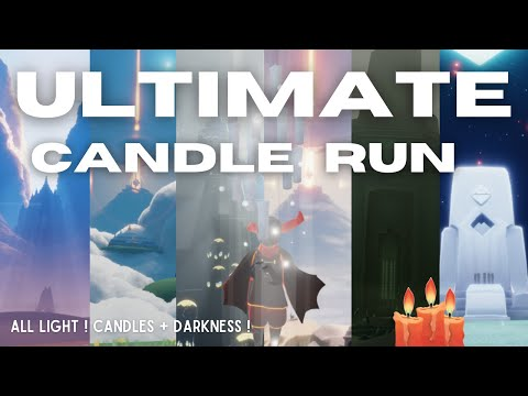 ULTIMATE candle run! All candles + darkness | Sky: Children of the Light | nastymold