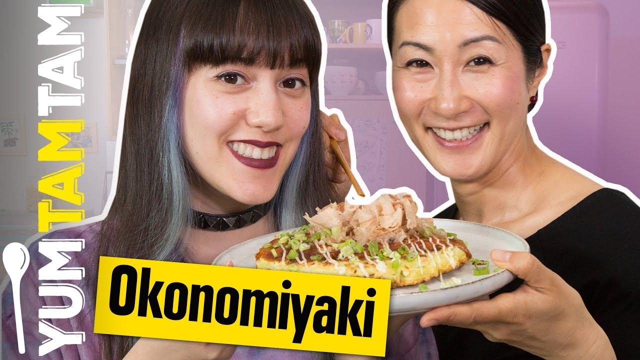 OKONOMIYAKI // Japanische Pfannkuchen mit Kaoru Iriyama // #yumtamtam