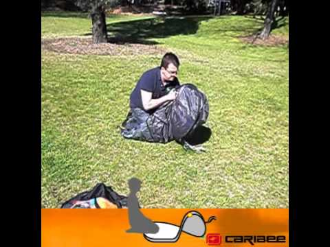 Official Caribee Get Up 2 tent - Folding Instructions  sc 1 st  YouTube & Official Caribee Get Up 2 tent - Folding Instructions - YouTube