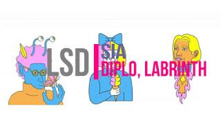 Download Lagu LSD - Audio ft. Sia, Diplo y Labrinth // Español - Ingles // Letra Mp3