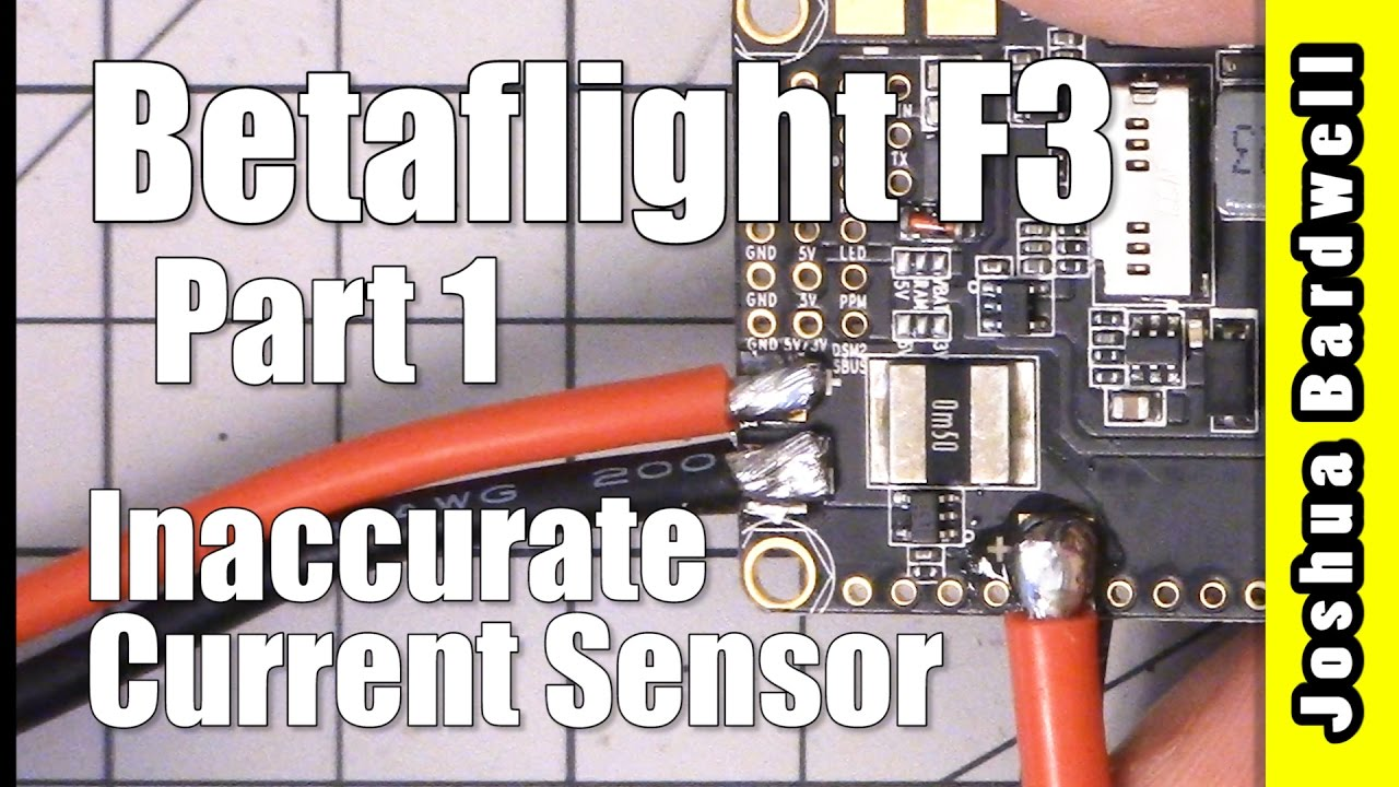 Betaflight F3 Inaccurate Current Sensor mAh Readout | FIXED - Part 1