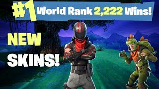 One of AlexRamiGaming's most viewed videos: NEW UPDATE #1 WORLD RANKED FORTNITE SOLO PLAYER  - 2,222 SOLO WINS