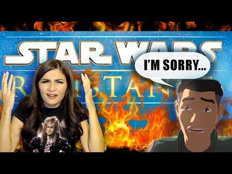 STAR WARS RESISTANCE HONEST REVIEW!