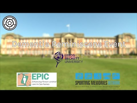 Sports Day Reminiscence Event at Leeds Beckett University