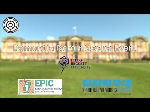 Sports Day Reminiscence Event at Leeds Beckett University