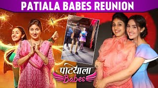 Patiala Babes Star Cast Ashnoor Kaur, Paridhi Sharma \u0026 Aniruddh Reunion |