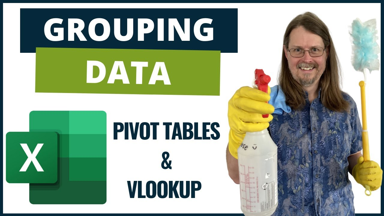Data Cleaning With Excel - Grouping Data