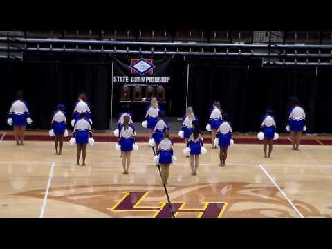 Arkadelphia High School Dance Team - POM Routine, 11/09/2019