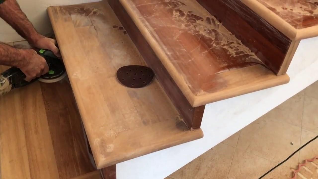 Scaletta In Legno Antica : Rinnovare una vecchia scala in legno ecco come fare youtube