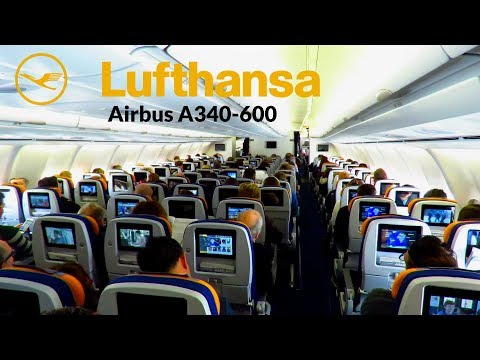 TRIP REPORT | SURPRISING Lufthansa A340-600 Flight | Berlin Tegel to Munich | Economy + Business!