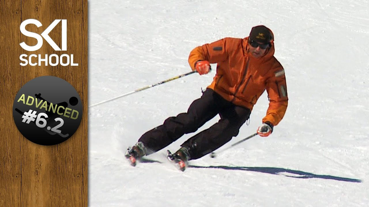 Carving how to carve on skis advanced ski lesson