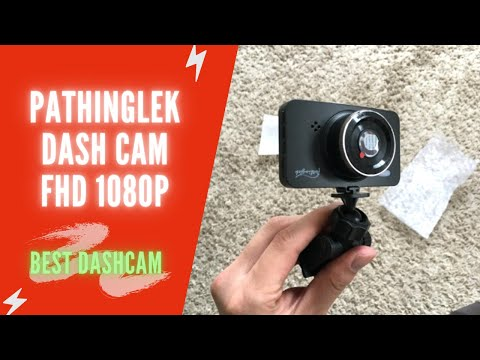 Pathinglek Dash Cam Review | Pathinglek FHD 1080P Dash Cam Car | Pathinglek Dash Cam Instructions