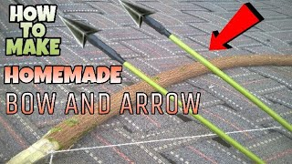 Homemade Powerful Bow and Arrow - HOW TO MAKE | The Thug