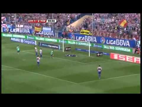 David De Gea vs Barcelona 10-11