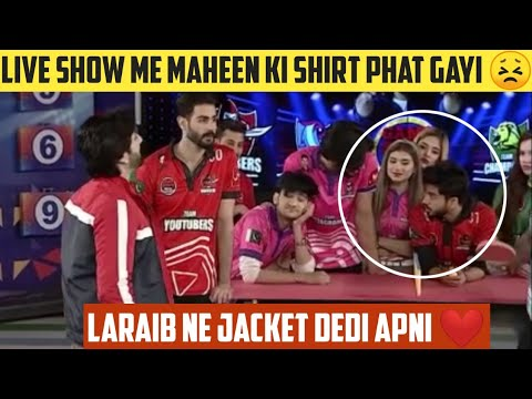Download 😮Live Show Me Maheen Ki Shirt Phat Gayi |Game Show Aisay Chalay Ga League Season 5 Today 21 Feb 2021