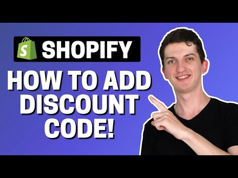 How To Create Discount Code In Shopify