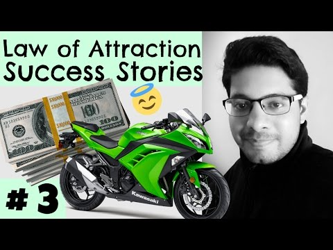 Law of Attraction Success Series # 3 - Money, Friends, Cars & Bikes, Popularity, Social Life, Proof