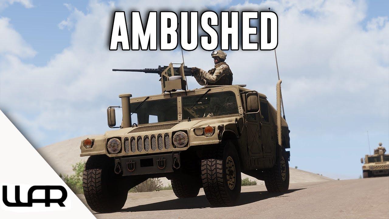 AMBUSHED - MILSIM (Arma 3) - 43rd Marine Expeditionary Unit - Episode 4