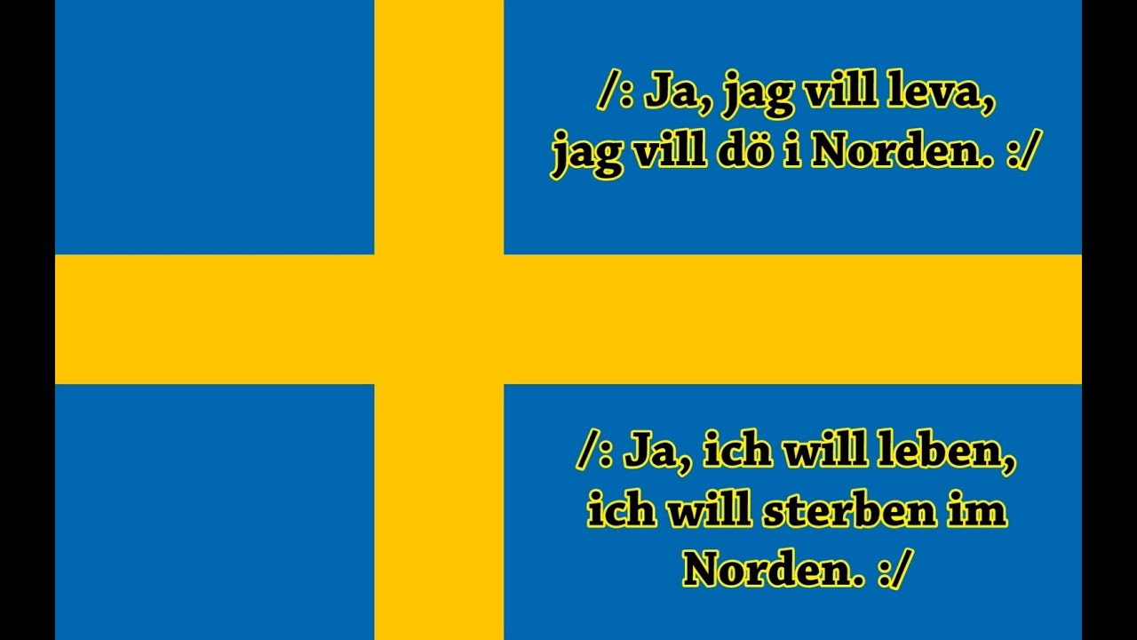 nationalhymne schweden