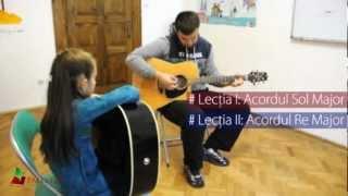 Cursuri de chitara pentru copii si tineri la PALESTRA