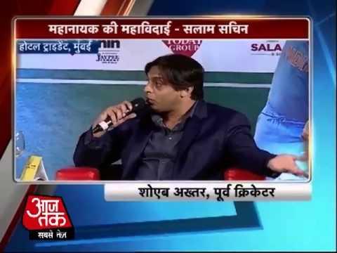 Salam Sachin conclave: Sachin is the world's greatest player says Waqar & Shoaib