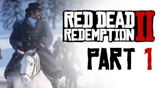 RED DEAD REDEMPTION 2 #1 - I BURNED A CABIN DOWN | PS4 Gameplay